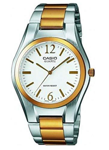 Casio Reloj Analógico para Mujer de Cuarzo con Correa en Acero Inoxidable LTP-1280PSG-7AEF