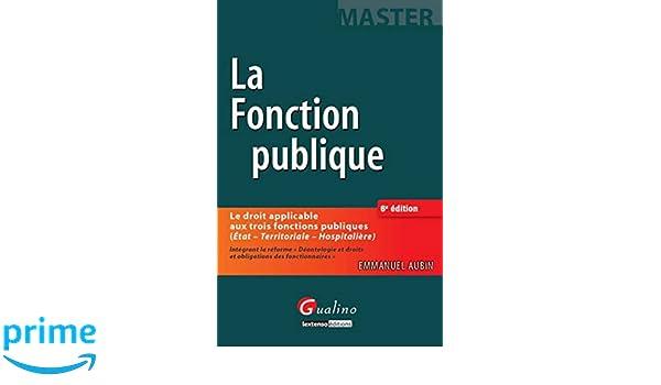 4baca90316f Amazon.fr - La Fonction publique
