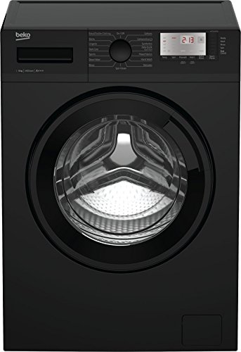 Beko WTG641M1B A+++ Rated 6Kg 1400 Spin Washing Machine in Black 15 Programmes