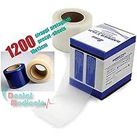 Barrier película película Azul en rollo adhesivo precortado 1200rasgar para la protección de instrumentos y superficies