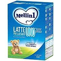 Mellin 1 Latte in Polvere per Neonati - 4 Confezioni di 800gr [Totale = 3200gr]