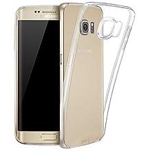 LONVIPI FUNDA Galaxy S6 Edge PLUS Carcasa Transparente Cubierta de Silicona Para Samsung Galaxy S6 Edge PLUS De Ultra Delgado de TPU Estuche Silicona Trasera - LONVIPI