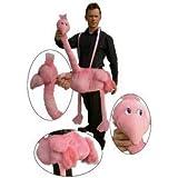 Kostüm rosa Flamingo für Erwachsene