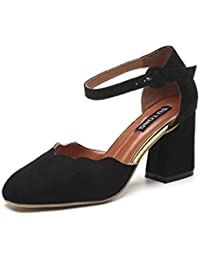 913f1a332b4 Titas Women's Low Heel Black Mules Leather Chappals Best Deals With ...
