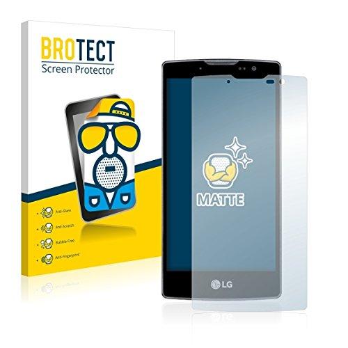2X BROTECT Matt Bildschirmschutz Schutzfolie für LG Spirit Y70 (matt - entspiegelt, Kratzfest, schmutzabweisend)