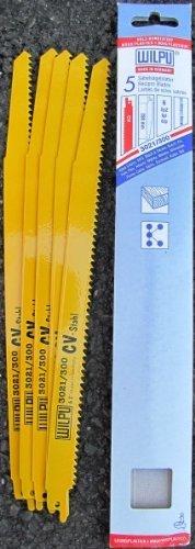 Asein – Scie sabre 5 feuilles s828dl 280 mm (blister)