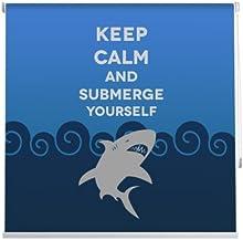 Comprar CORTINADECOR - Estor enrollable juvenil keep calm and sumerge yourself