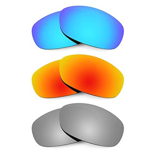 Revant Ersatzlinsen für Maui Jim Surf Rider MJ261 Polarisiert 3 Paar Kombipack K014
