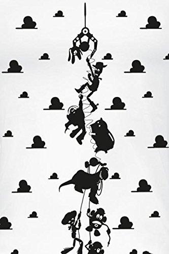 Toy Story Hanging Around Girl-Top weiß Weiß