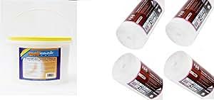 Erfurt Mav Polystyrène 4 rouleaux 1200 4 mm avec doublure en Papier de qualité supérieure 10 kg Wallrock Thermal Liner Adhesive Enduit de 10 kg