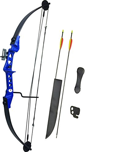 ASD Archery Blue Striker Compound Bow and Arrows Set (Fully Adjustable) Test