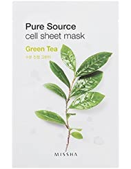 MISSHA Pure Source Cell Sheet Mask (Green Tea), 1er Pack