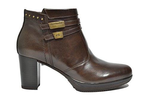 Nero Giardini Polacchini scarpe donna t.moro 6411 A616411D 37