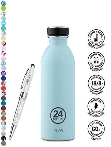24 Bottles Bottiglia di acqua Urban 250 ml | 500 ml | 1000 ml colori diversi 24bottles, Contenuto:500 ml, Colore:cloud blue