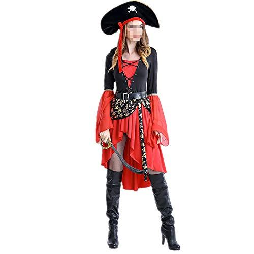 Weiblichen Tv Charaktere Kostüm - DBKILL Weibliches Piraten-Kostüm, Halloween-Spiel-Uniform Versuchung Cosplay