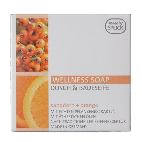 Speick Dusch- und Badeseife Sanddorn und Orange 200g