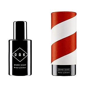 OAK BEARD SCENT – Barber of Athens I Beard Oil, Bartöl (30 ml): Aromatisch-holziger Bartduft. Natürliches Bartparfüm für Männer mit 3-Tage-Bart bis Vollbart. Vegane, zertifizierte Naturkosmetik.