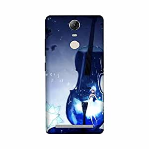 Yashas High Quality Designer Printed Case & Cover for Lenovo K5 Note Guitar