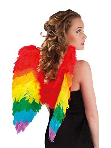 Herren Damen Regenbogen Multi Color Pride Kostüm Kostüm - Pick & Mix (Eine Grösse passt allen, Mehrfarbige (Kostüm Männer Flügel Für)