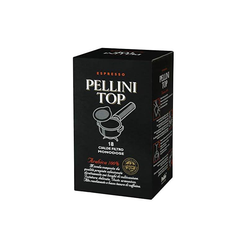 Pellini Caffè, Espresso Pellini Top Arabica 100%, Cialde Monodose, 18 Cialde Monodose, 125 gr