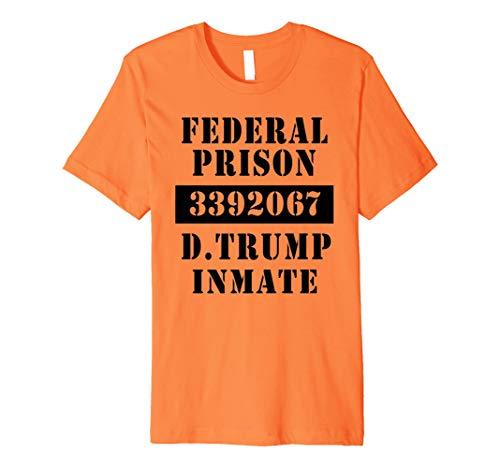 FEDERAL PRISON Tshirt INMATE DONALD TRUMP