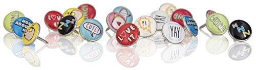 NPW Decorative Drawing Pins Thumb Tacks - Vibe Squad Push pins