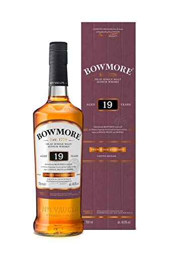 Bowmore Whisky 19 Años - 700 ml