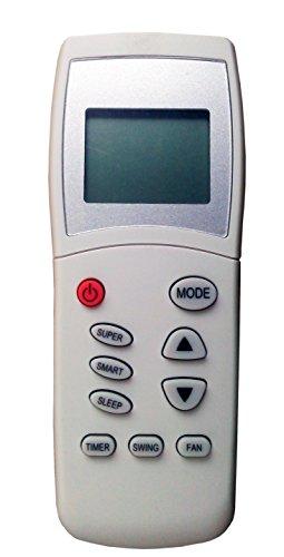 Telecomando de longhi 5550008900 per condizionatori delonghi, pinguino kelon, kenwood, climatizzatori, pompa di calore, inverter