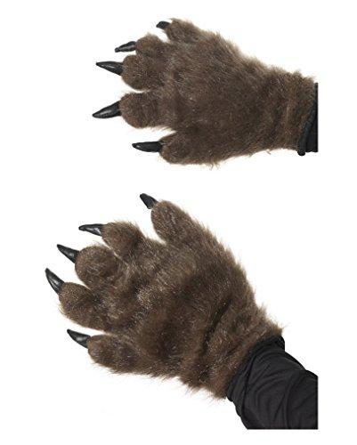 Braune Bärentatzen (Braune Handschuhe)