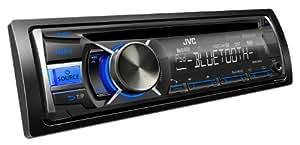 JVC KD-R741BT Auto CD-Receiver (AUX-IN, Bluetooth, UKW-Tuner, USB) schwarz