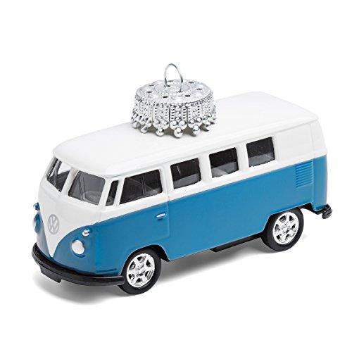 corpus delicti :: Christbaumschmuck aus Metall - die rollende Alternative zur Weihnachtskugel - VW Bus T1 Bulli (blau)
