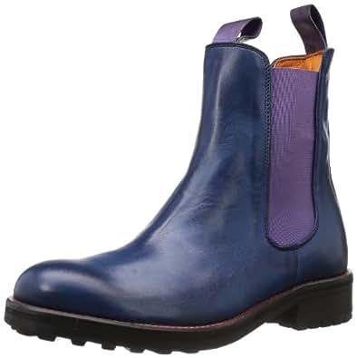 liebeskind berlin womens ls4010 chelsea boots blue blau blue size 37 shoes bags. Black Bedroom Furniture Sets. Home Design Ideas