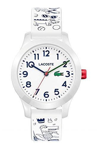 d4313170e3f0 Lacoste Reloj Análogo clásico para Niños de Cuarzo con Correa en Silicona  2030007