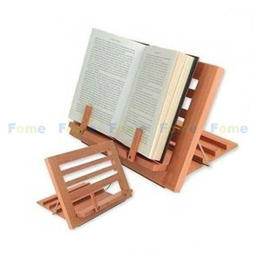 FOME Supporto Regolabile Lettura Testo Libro Documento supporto + FOME regalo Wooden