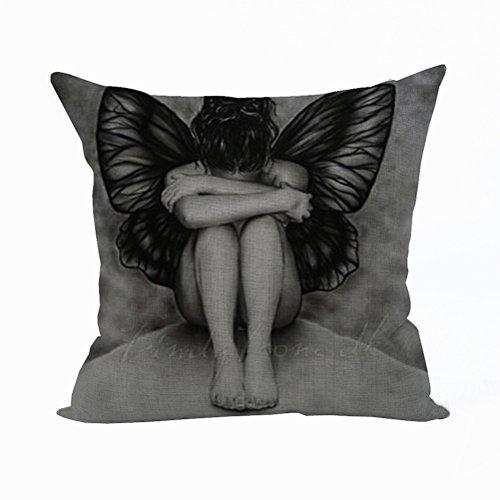 nunubee-cartoon-pillow-cover-cotton-linen-home-pillowcase-car-bed-cushion-cover-girl-black