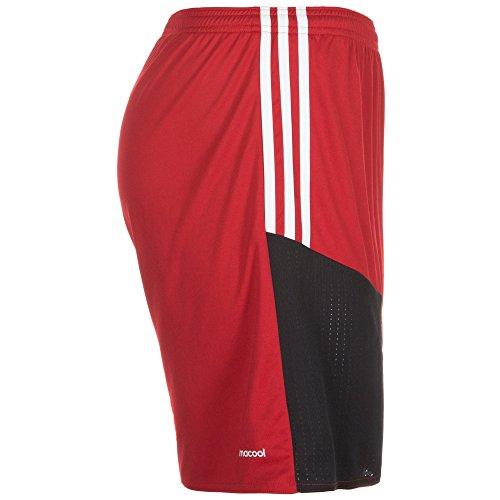 adidas Herren Regista 16 Shorts Power Red-White-Black