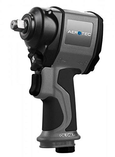 Preisvergleich Produktbild Aerotec Druckluft-Schlagschrauber Werkzeugaufnahme: 1/2 (12.5 mm) Außenvierkant Drehmoment (Max.):