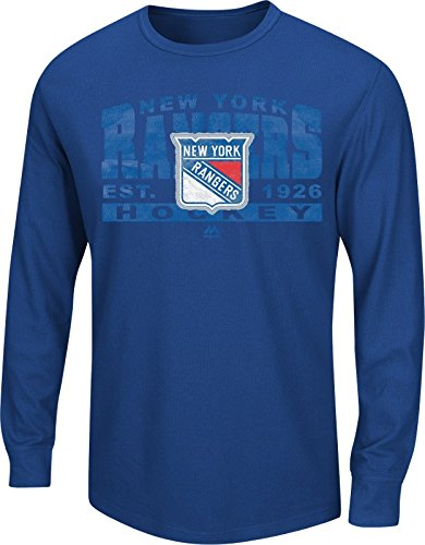 NHL Eishockey LS-Shirt Longsleeve Sweater NEW YORK NY RANGERS Thermal in L (LARGE) (Shirt Ls Thermal)