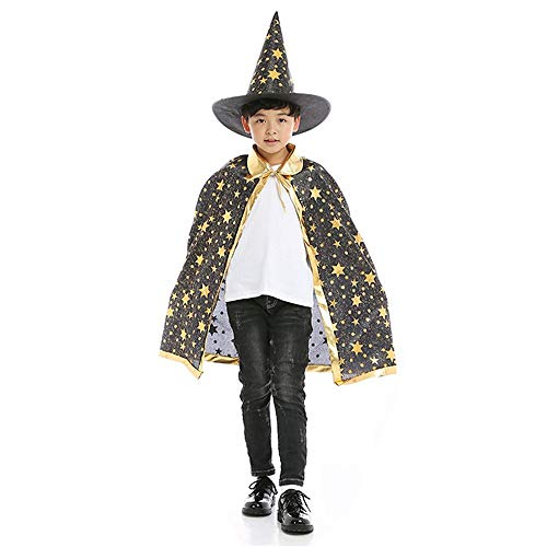 BJ-SHOP Capa de Halloween para Niños
