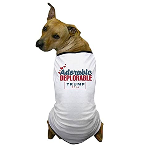 CafePress - Adorable Deplorable - Dog T-Shirt, Pet Clothing, Funny Dog Costume