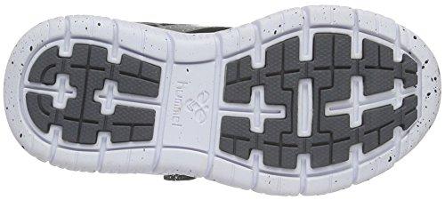 Hummel Crosslite Sneaker JR, Chaussures de Fitness Mixte Enfant Gris (Castle Rock)