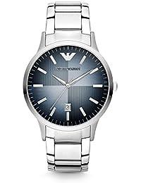 Unbekannt AR2472 - Reloj , correa de acero inoxidable color plateado