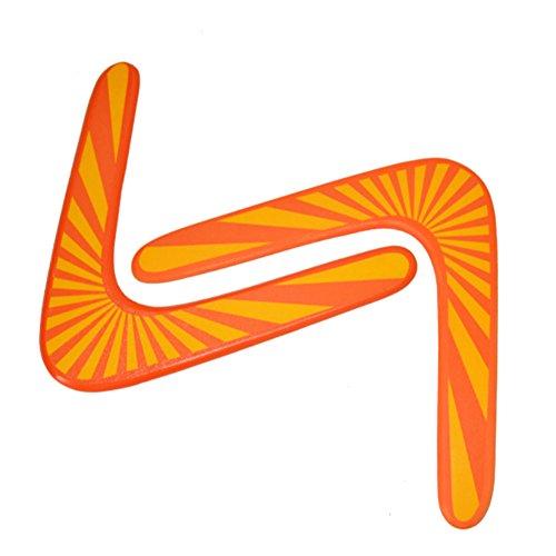TOPKing Alto Calidad De madera Bumerang, Al aire libre Deporte Bumerang Juguetes, tamaño 29,5 cm x 32,5 cm Bumerang para Más Que 8 Años Antiguo Niños