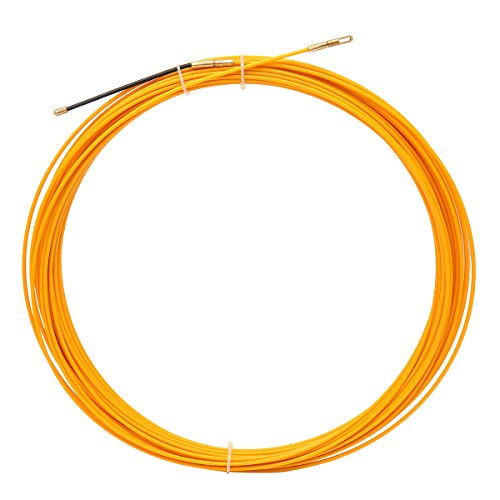 ChaRLes 10M/20M/30M 3Mm In Vetroresina Cavo Tenditore Pesce Nastro Bobina Condotto Canalizzatore Tirando Estrattore - 30M