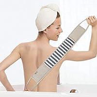 Dsaren Esponja de Ducha Loofah Esponjas Fácil de Limpiar Espalda y Exfoliante, Esponjas Baño Naturales para Hombre y Mujer (Azul)