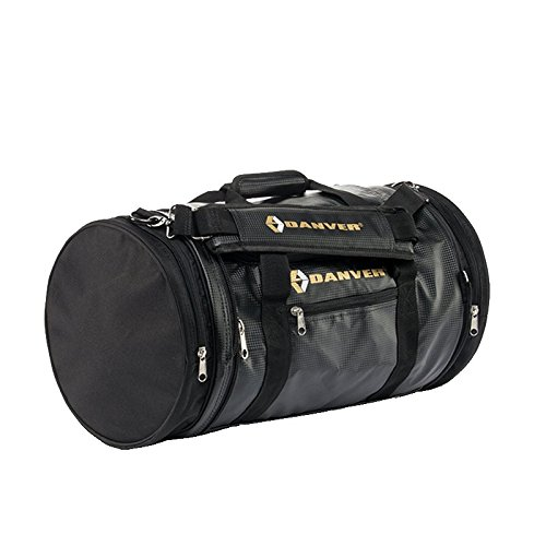 Danver Total Carbon Borsone Sportivo, Nero, 50 l