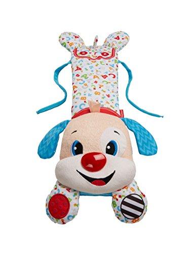 Mattel Fisher-Price FHJ08 - Lernspaß Kinderbett-Hündchen Spielzeug