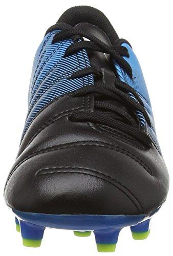 Puma Evopower 4.3 Firm Ground Junior, Scarpe da Calcio Unisex – Bambini Black (Black/White/Blue)