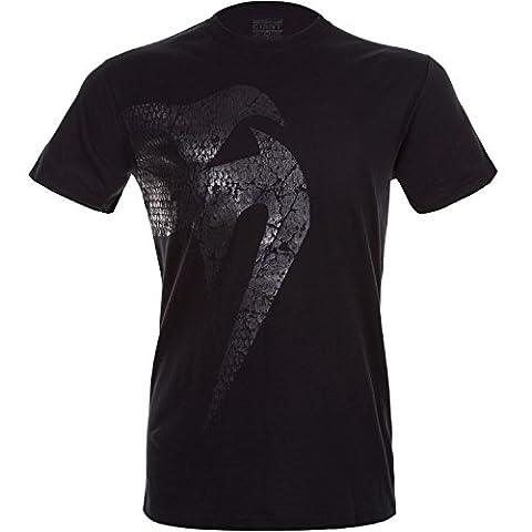 Venum Giant T-Shirt Homme Noir Mat FR : S (Taille Fabricant : S)