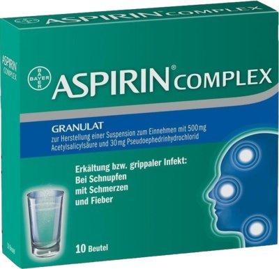 Erkältung Aspirin (Aspirin Complex Granulat)